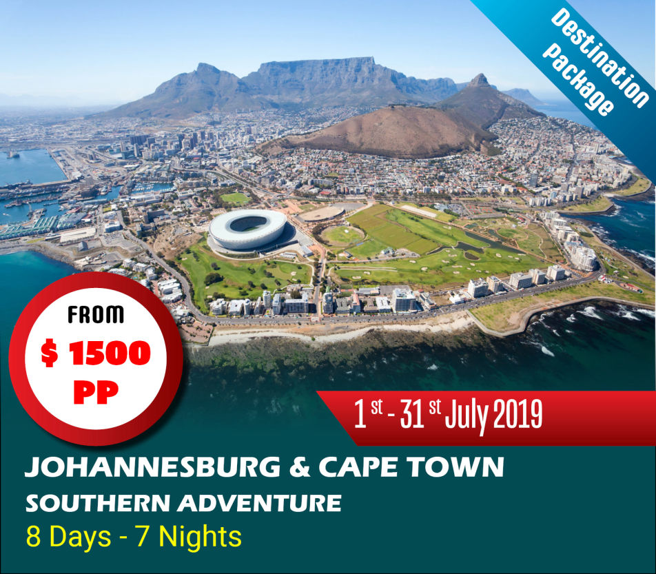 Johannesburg & Cape Town Holiday