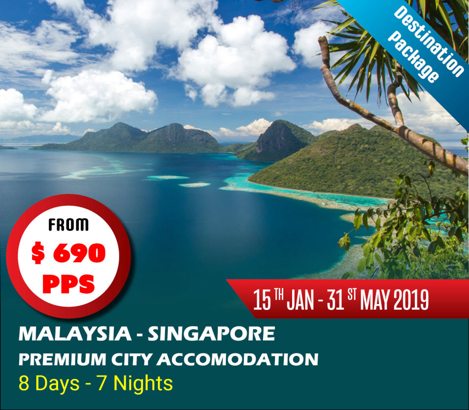 Malaysia and Singapore 7 Nights 8 Days